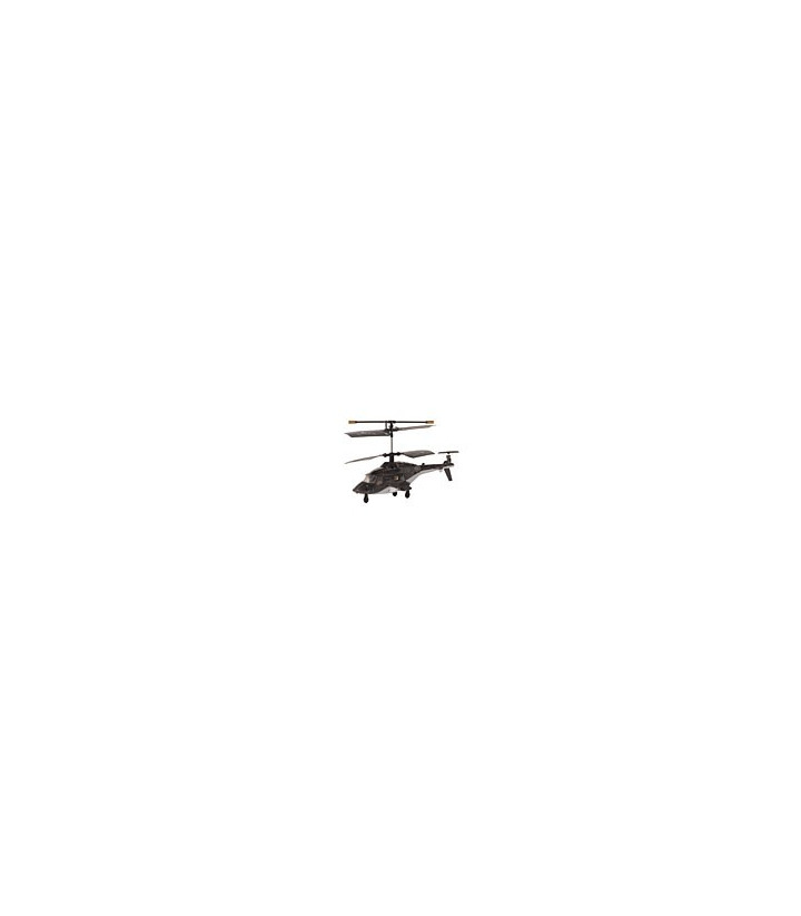 Syma S018 3ch Mini Airwolf RC Helicopter Black [SOLD OUT]