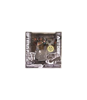 Transformers Animated Black Optimus Prime Exclusive [SOLD OUT]