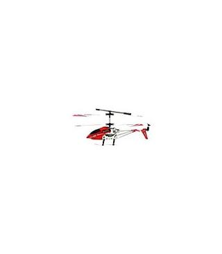 Rojo coaxial de interior del helicóptero del marco del metal del