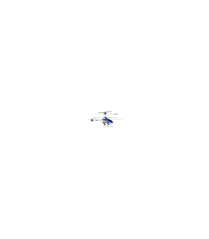 ZR Z006 Infrared 3CH Mini RC Helicopter RTF w/ Gyro Blue
