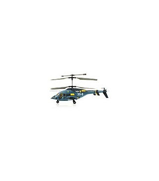 JXD 338 Sky Wolf Military 3CH RC Helicopter Blue [SOLD OUT]