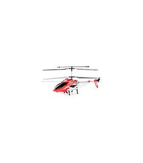 Syma S031 3CH Coaxial Large Size RC Helicóptero Girocompás rojo