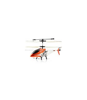 Double Horse 9098 3CH Metal Helicopter w/ Built-in Gyro Orange