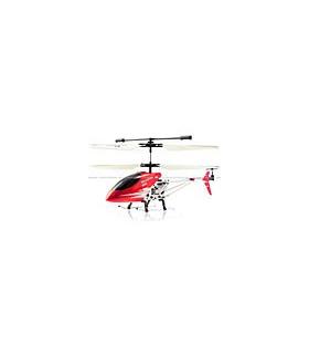 Double Horse 9098 3CH Metal Helicóptero Girocompás rojo