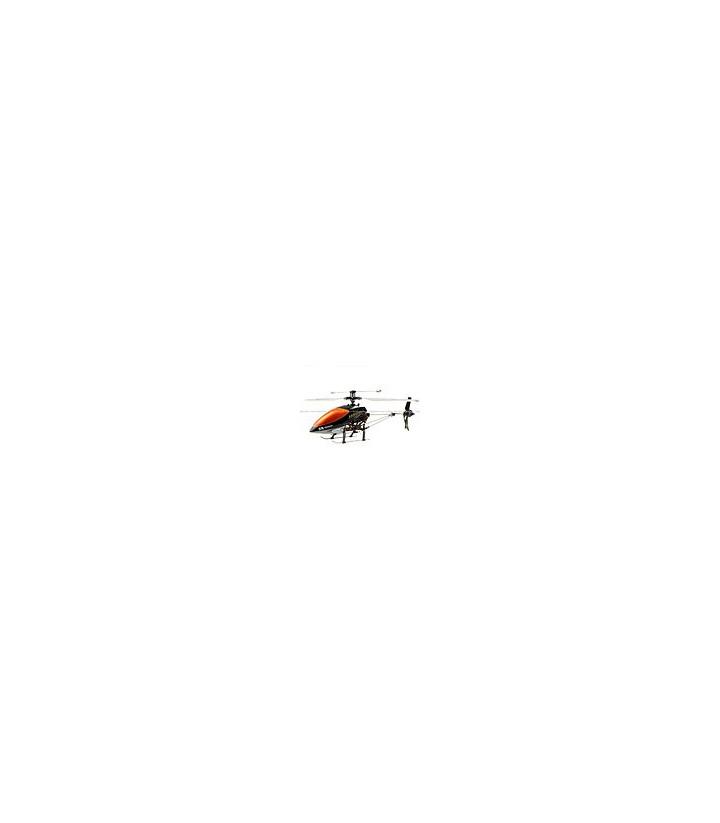 Double Horse 9100 3CH Metal Helicóptero Girocompás anaranjado