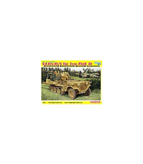1:35 Dragon Sd.Kfz.10/5 für 2cm Flak 38 Smart Kit 6676
