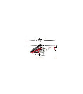 Syma S110G Infrared 3CH Micro RC Helicopter w/ Gyro (Red)