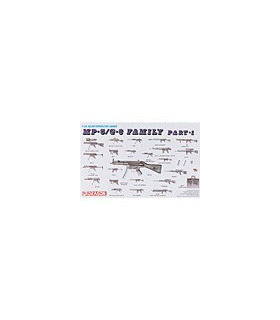 1:35 DML Weapons Set #3 MP-5 / G-3 Family 3803