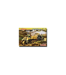 1:35 Dragon SdKfz.2 Kettenkrad Late Production & 3.7cm PaK 6446
