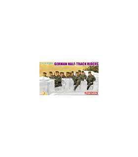 1:35 Dragon German Half-Track Riders (10 Figures Set) 6671