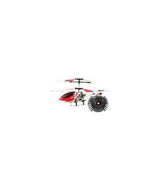 SanHuan 6020-1 MAX-Z Swift 3CH RC Helicopter RTF w/ Gyro Red