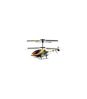SanHuan 6027-1 Mini Metal 3CH RC Helicopter RTF w/ Gyro Yellow