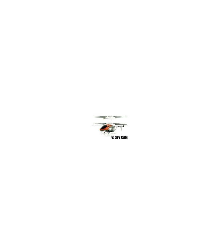 Sanhuan SH-6030 3CH RC Helicopter RTF w/ Gyro Spy Camera Orange