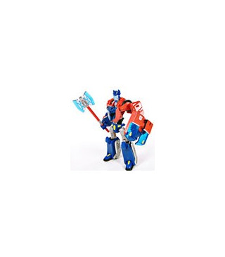 Transformers Animated Deluxe Cybertron Mode Optimus Prime Loose