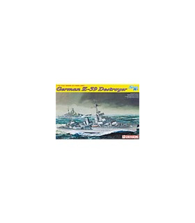 1:700 Dragon Model Kits German Z-39 Destroyer Smart Kit 7103