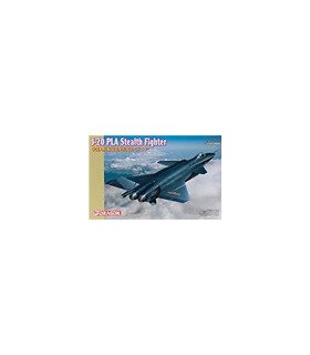 1:144 Dragon Model Kits J-20 PLA Stealth Fighter 4625