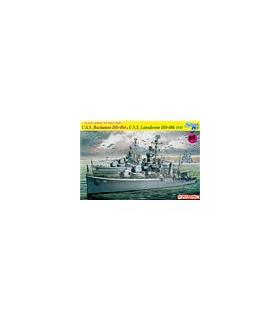 1:700 Dragon USS Buchanan DD-484 and USS Landsdowne 7089