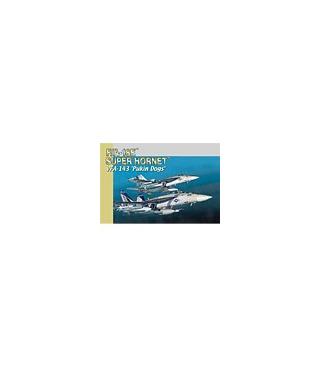 1:144 Dragon Model Kits F-18E Super Hornet VFA-143 Pukin 4590