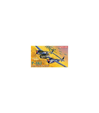 1:72 Dragon Model Kits P-38J Droop Snoot Bomba-Dear 5030
