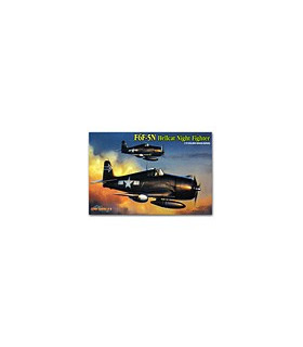 1:72 Cyber Model Kits Hobby F6F-5N Hellcat - Wing Tech 5080