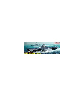 1:700 Dragon Model Kits USS Essex CV-9 7049