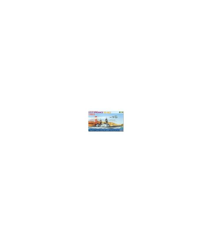 1:700 Dragon Model Kits USS Spruance Premium Edition 7084