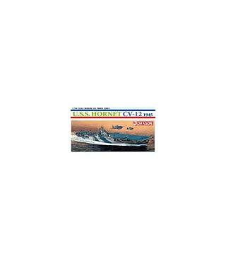 1:700 Dragon Model Kits USS Hornet CV-12 1945 7085