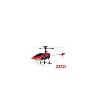 Nine Eagles 328A Solo Pro 4CH RC Helicopter 2.4GHz w/ Gyro Red