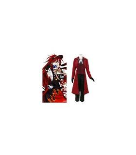 Black Butler Gureru Sutcliffe Cosplay Costume