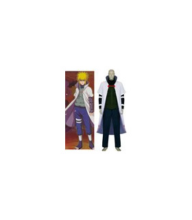 Naruto 4th Hokage Minato Namikaze Coat Shippuden Cosplay Costume
