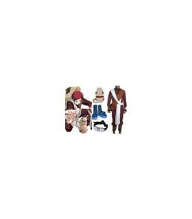 Naruto Gaara 3 de cosplay