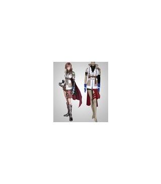 Final Fantasy XIII relámpago cosplay