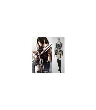 Final Fantasy Yuffie Kisaragi chicas cosplay