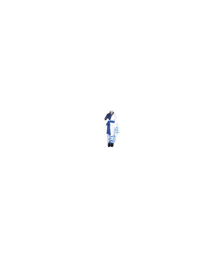 Gintama Gintoki Sakata Soul Silver azul cosplay
