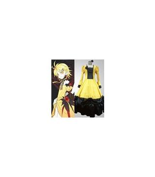 Vocaloid Len Kagamine Rin ropa cosplay vestido