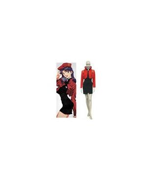 Neon Genesis Evangelion Misato Katsuragi de Halloween cosplay