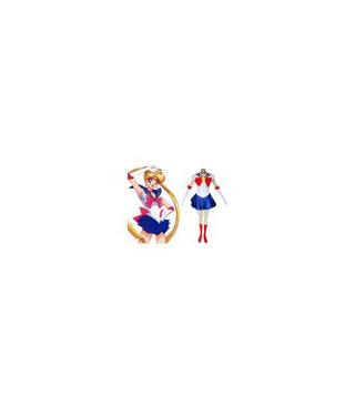 Sailor Moon Tsukino Usagi Azul Disfraces Cosplay