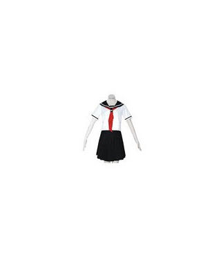 Hell Girl Ai Enma uniforme de verano cosplay