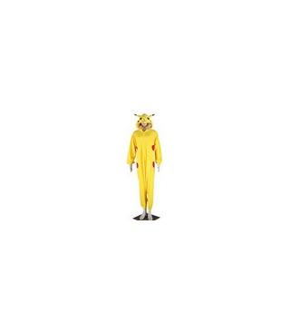 Pokemon Pikachu cosplay Kigurumi Desenmascarando vestuario