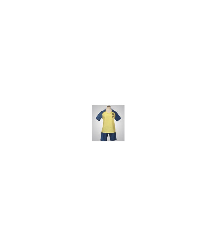 Inazuma Eleven amarillo y azul cosplay