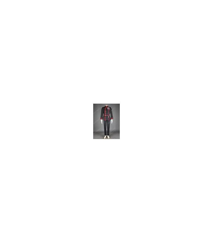 D.Gray-man Allen Walker Y Negro cosplay Roja