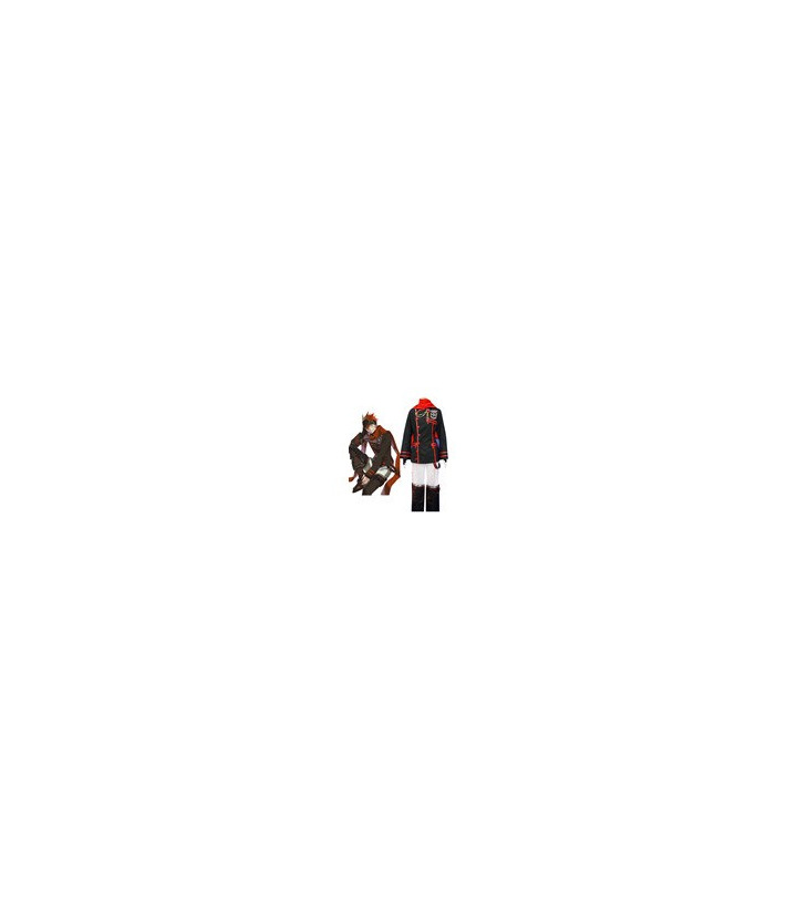 D.Gray-man Lavi cosplay