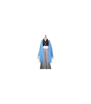 Hakuouki Shinsengumi Kitan Azul Cospaly vestuario