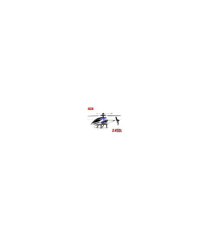 Double Horse 9116 4CH helicóptero 2.4GHz / w integrado Gyro Azu