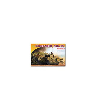 1:72 Dragon Tank Model Kits Churchill Mk IV 7424