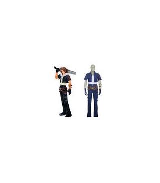 Kingdom Hearts Squall Leonhart Cosplay Kostüme
