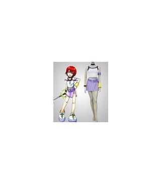 Kingdom Hearts Kairi cosplay Ver.1 vestuario púrpura