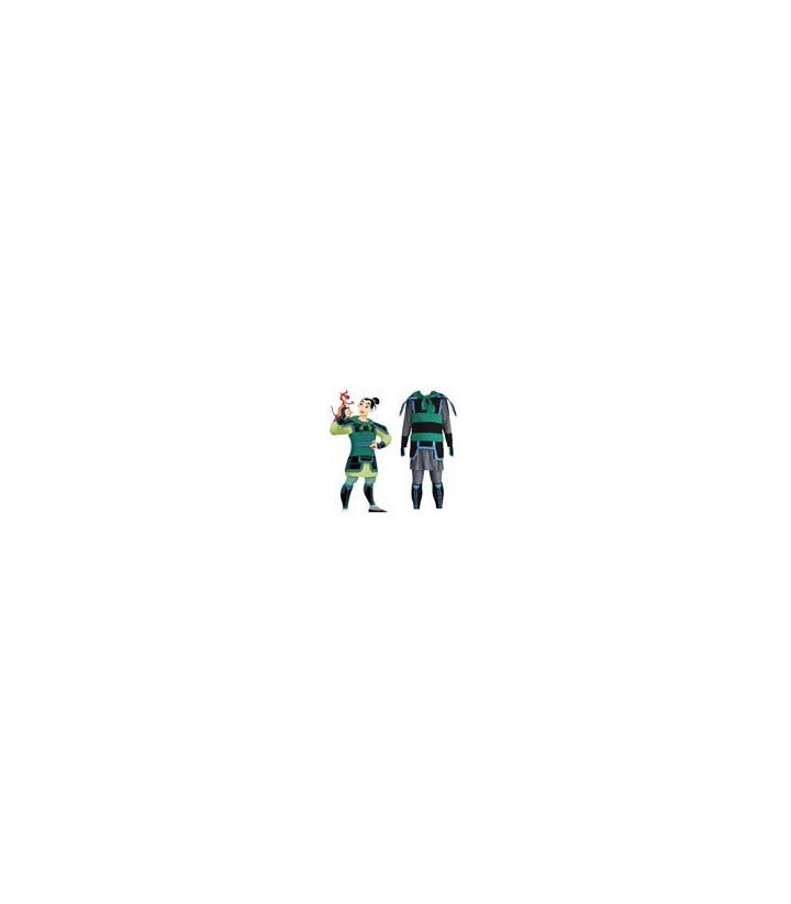 Kingdom Hearts Mulan cosplay