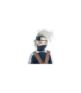 Naruto Plata Hatake Kakashi nylon cosplay peluca