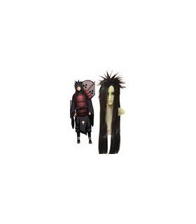 Naruto Madara Uchiha peluca cosplay